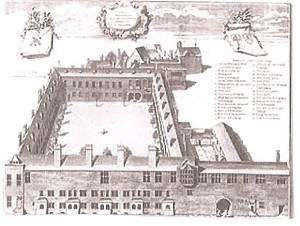 Gresham College 1740 (Engraving)