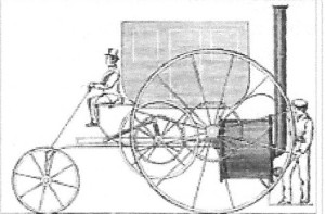 Vivian and Trevithick locomotive 1803